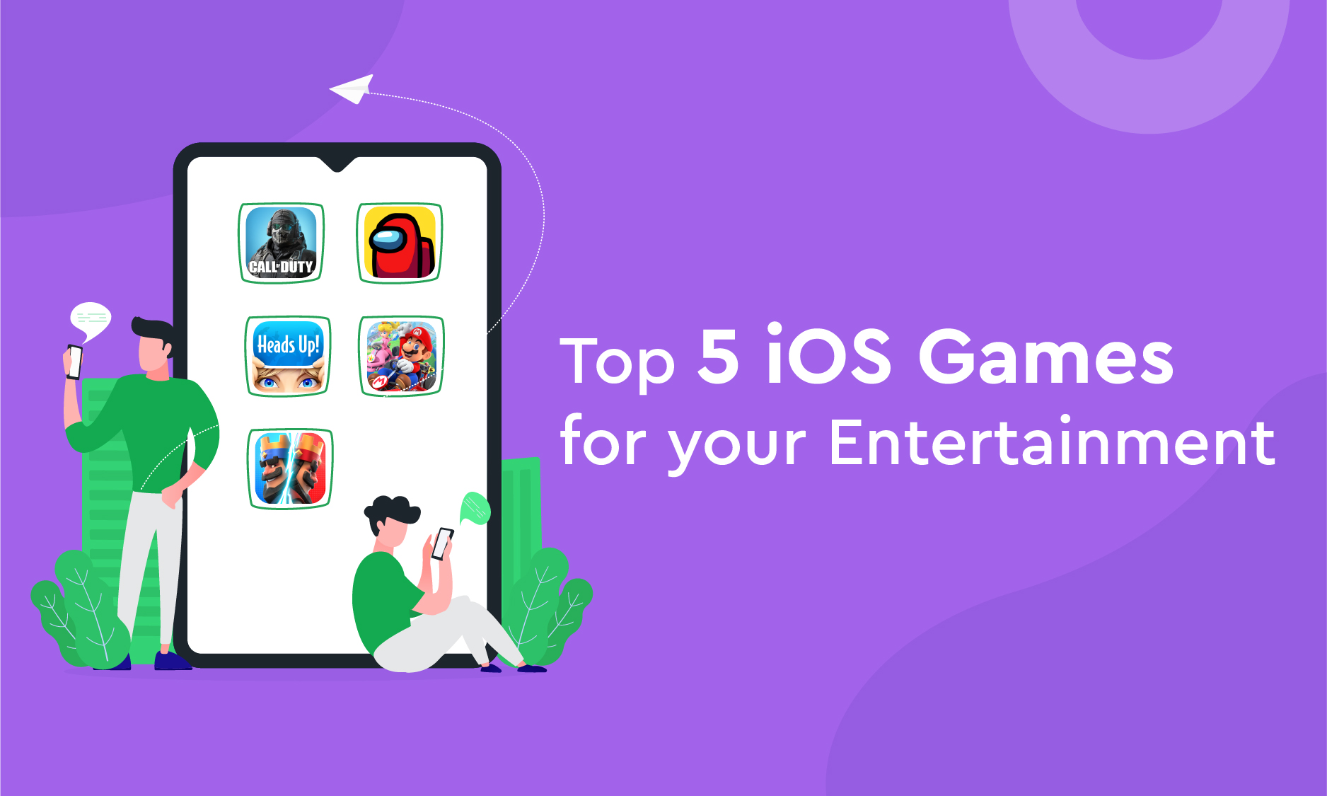Top 5 iOS Games for your Entertainment