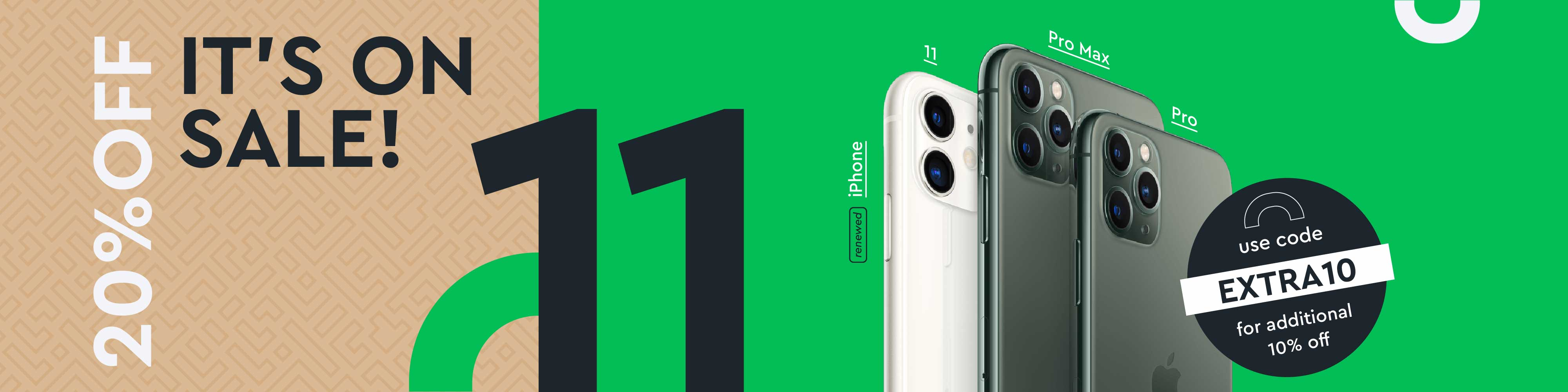 Extra 10% off - iPhone 11